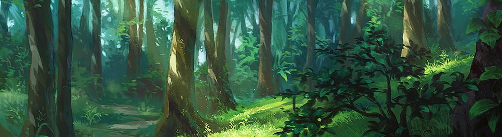 L'orée de la forêt
