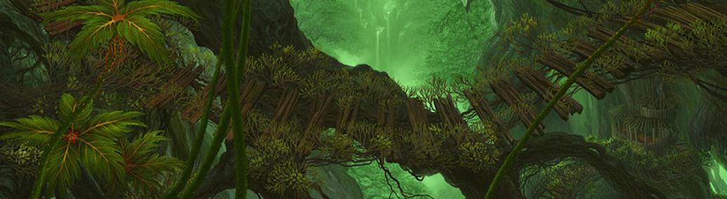 Les ponts des arbres