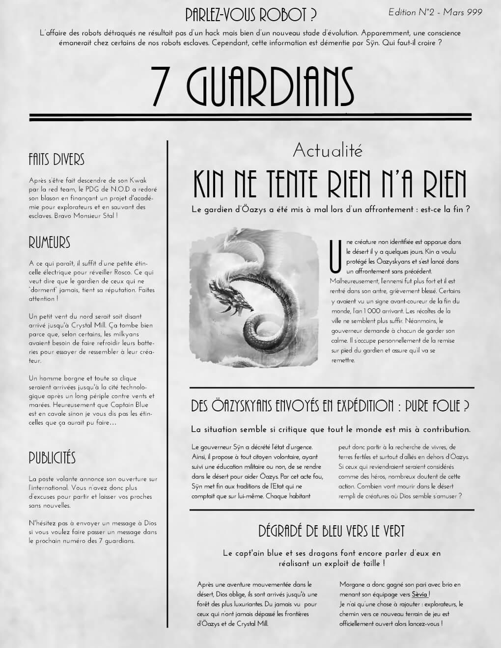 Journal : 7 guardians Journal-edition2