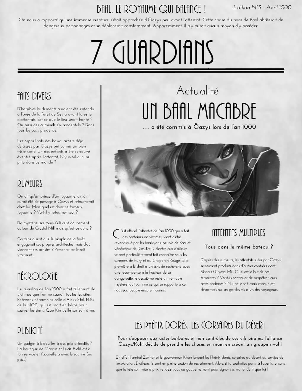 Journal : 7 guardians Journal-edition3